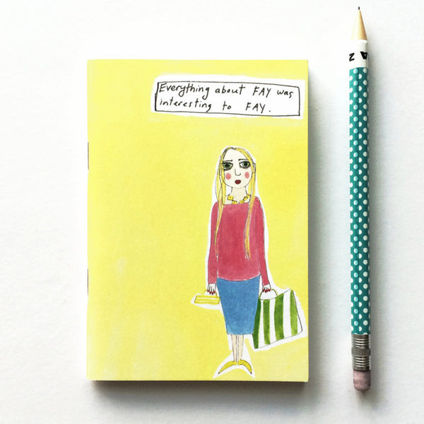 Me me me - illustrated notebook