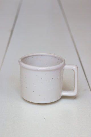 The Camper Mug - Speckled White