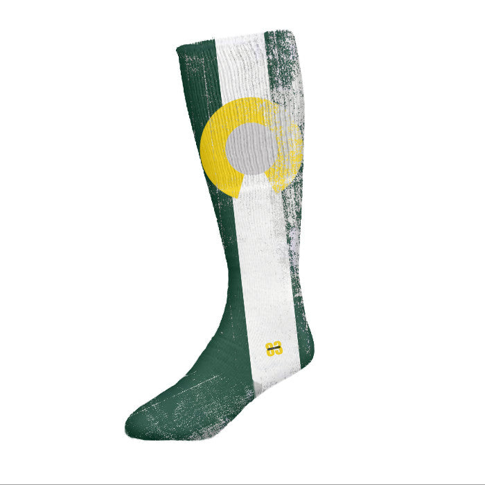 Socken Haus Colorado Green flag Socks - Unlimited 83