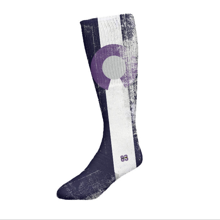 Socken Haus Colorado purple flag Socks - Unlimited 83
