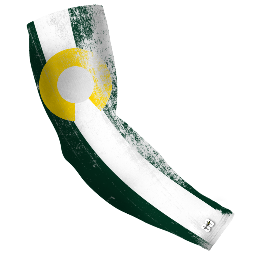 Compression Arm sleeve Colorado Green Flag - Unlimited 83