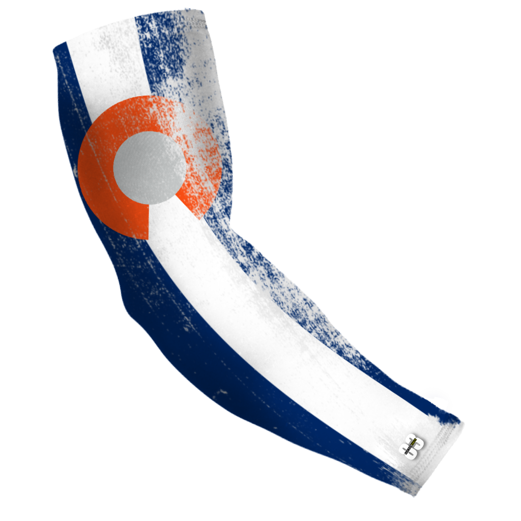 Compression Arm sleeve Colorado Orange Flag - Unlimited 83