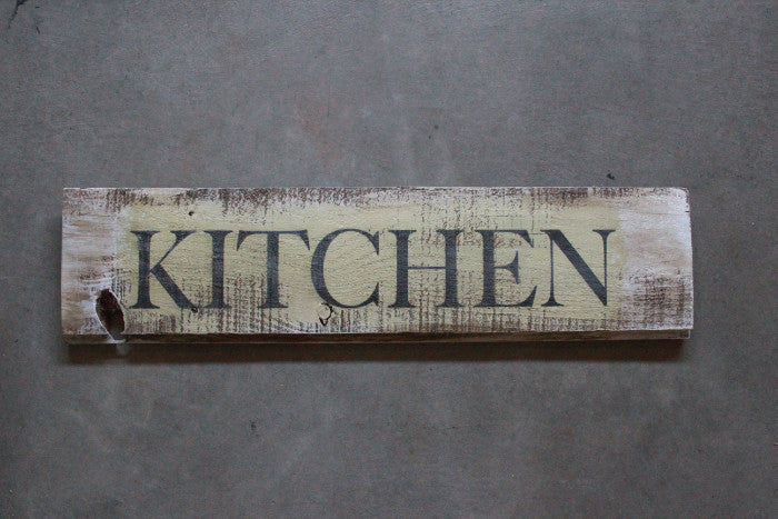 Vintage Barn Wood Sign Kitchen - Unlimited 83
