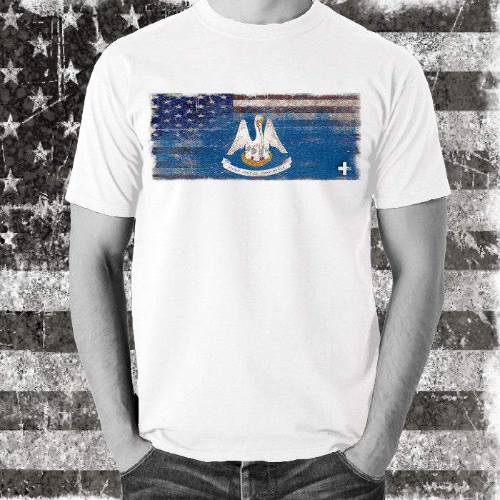 America United Louisiana Tee - Unlimited 83