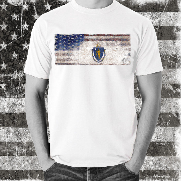 America United Massachusetts Tee - Unlimited 83