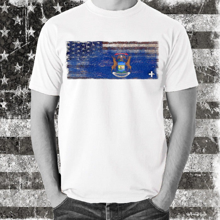 America United Michigan Tee - Unlimited 83