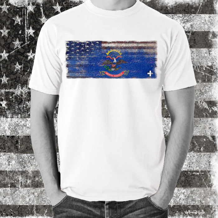 America United North Dakota Tee - Unlimited 83