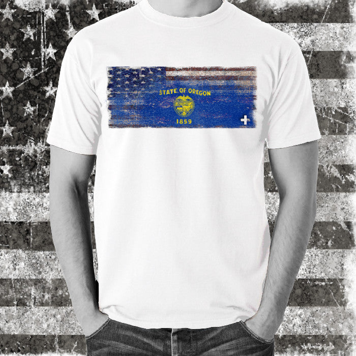 America United State of Oregon Tee - Unlimited 83