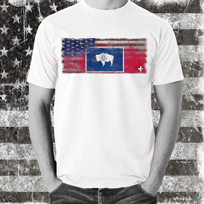America United Wyoming Tee - Unlimited 83