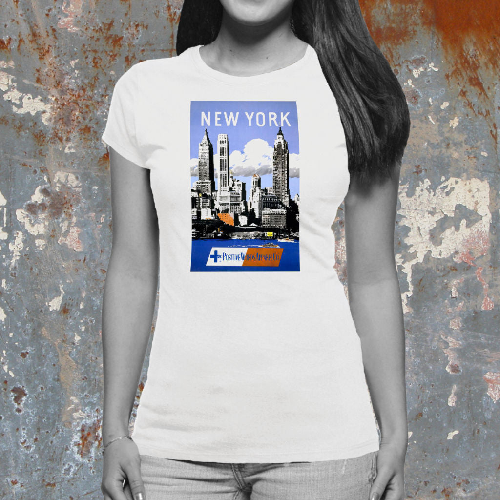 Positive Words Apparel New York T-Shirt - Unlimited 83