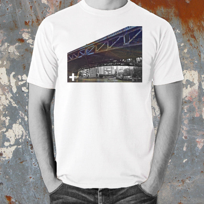Positive Words Apparel Chicago Bridge T-Shirt - Unlimited 83