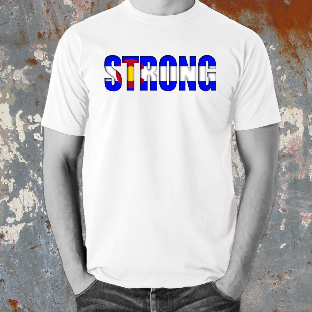 Positive Words Apparel Colorado Strong T-Shirt - Unlimited 83