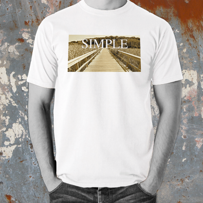 Positive Words Apparel Simple T-Shirt - Unlimited 83
