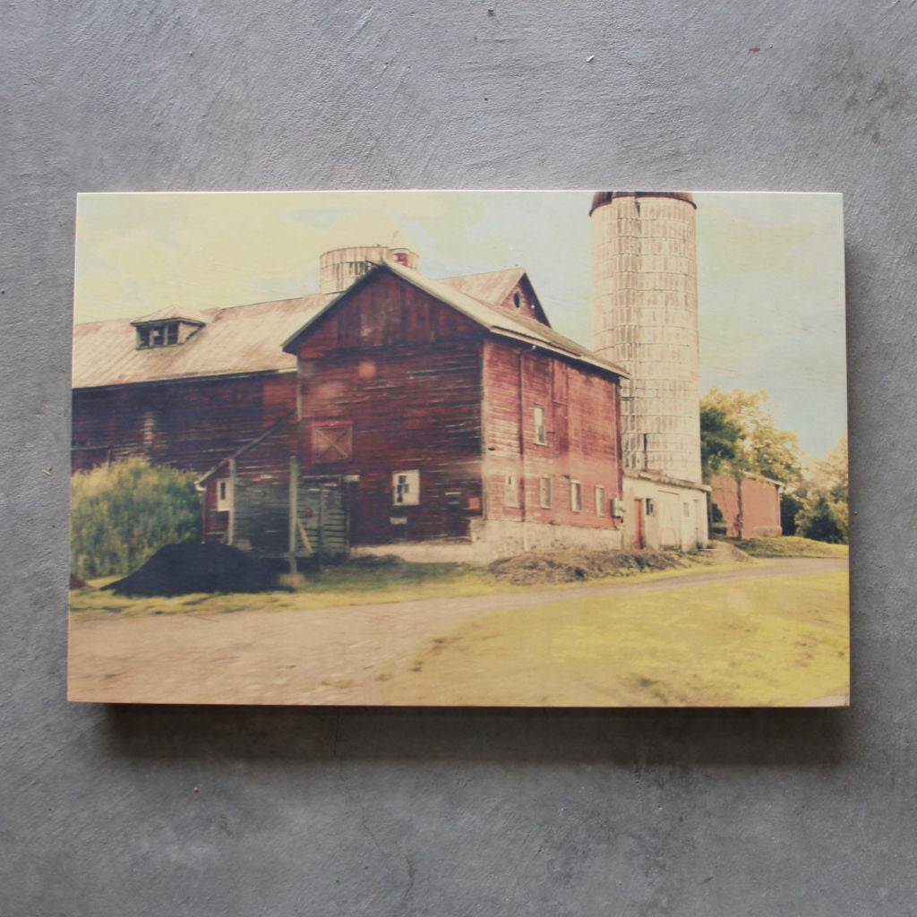 Rustic print Old Barn - Unlimited 83