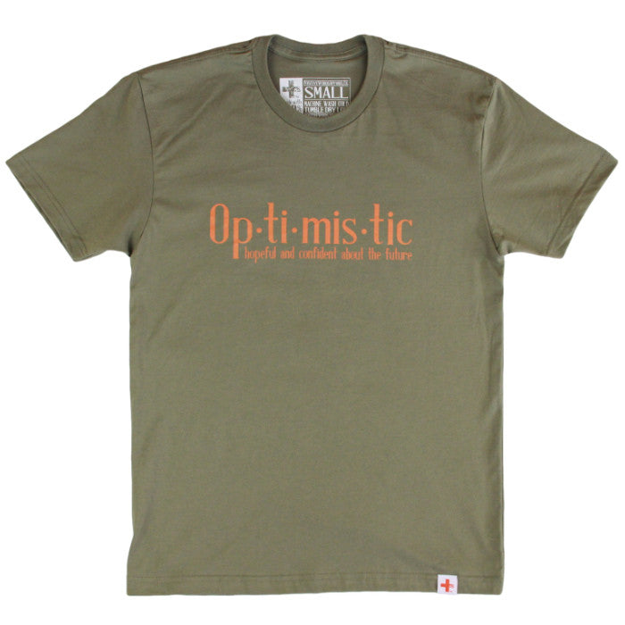 Positive Words Optimistic T-Shirt - Unlimited 83