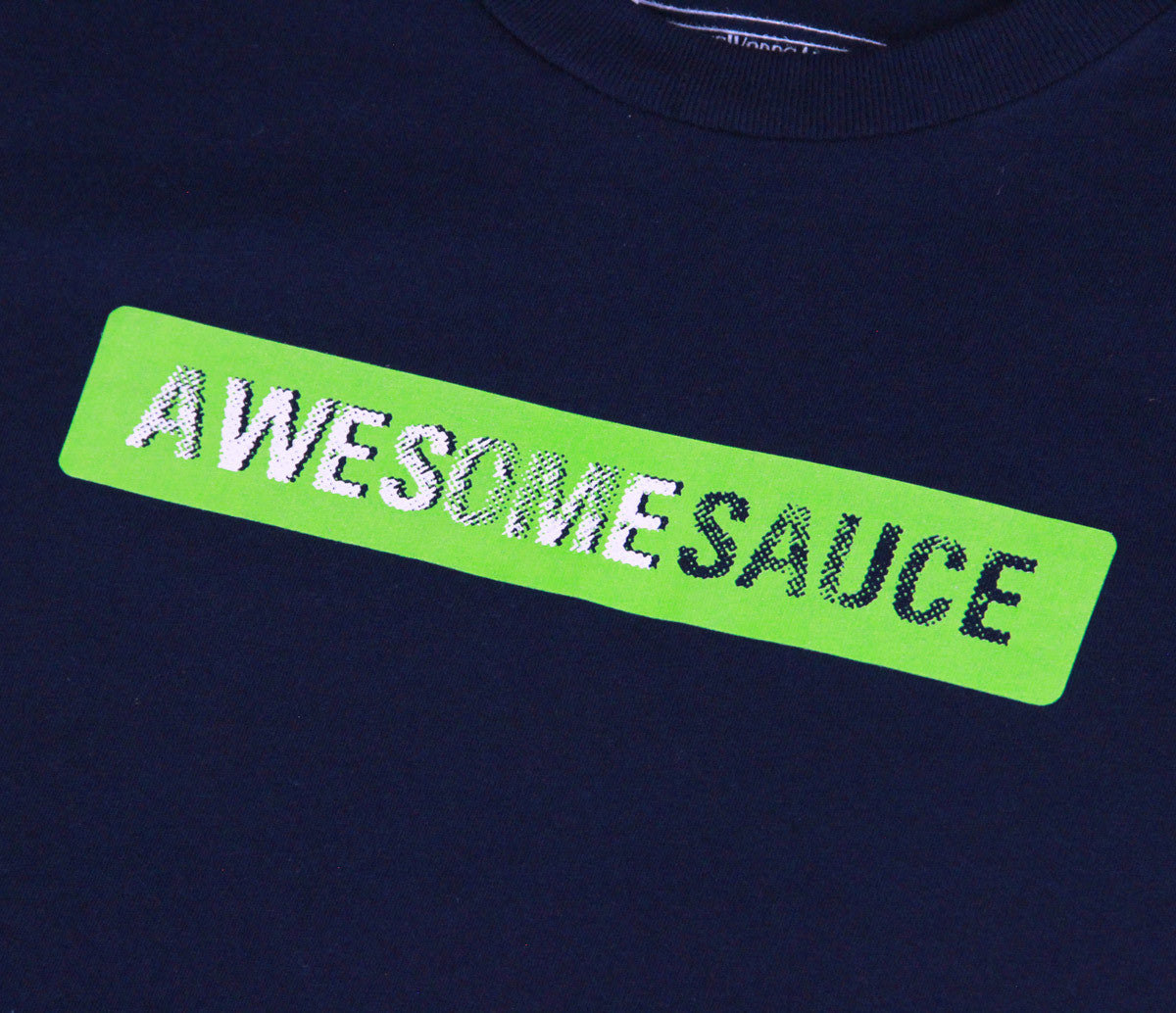 Kids Awesomesauce Neon Green T-shirt - Unlimited 83