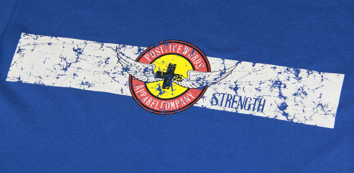 Positive Words Apparel Colorado Strength T-shirt - Unlimited 83
