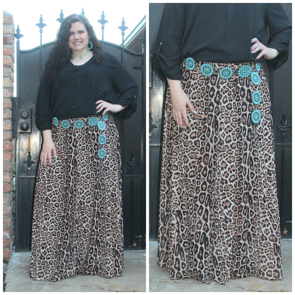 PLUS Midland Maxi Skirt