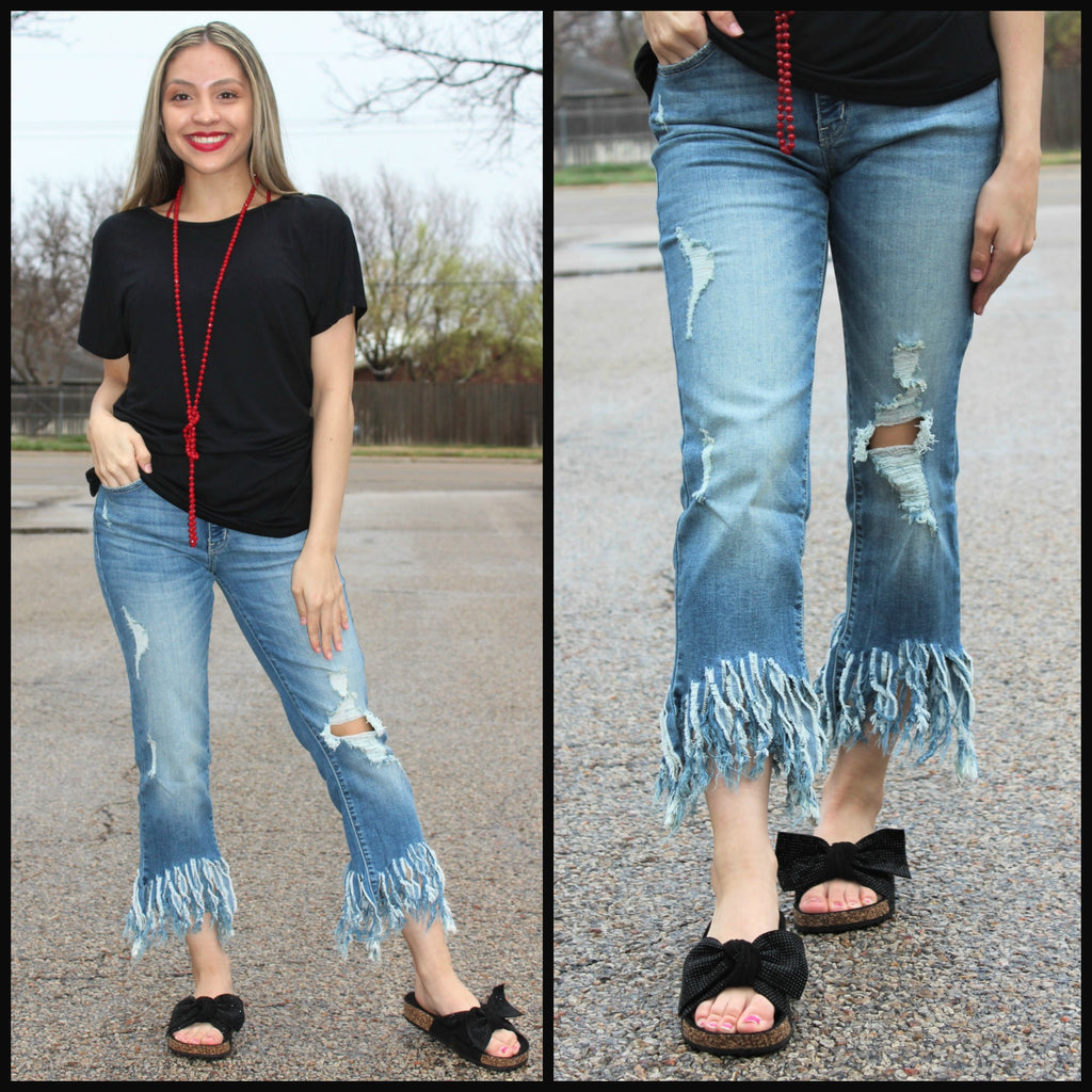 Tear It Up Boyfriend Jeans