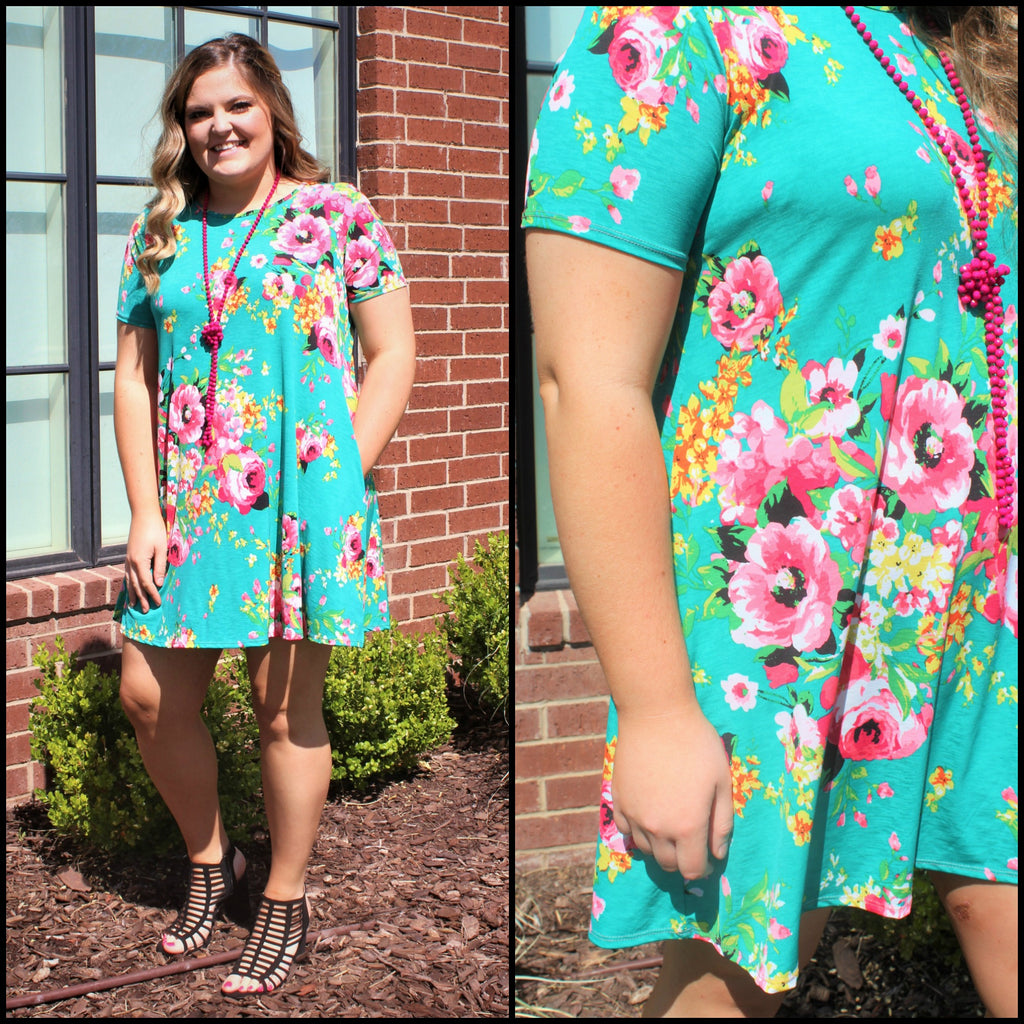 PLUS Spring Addition Dress