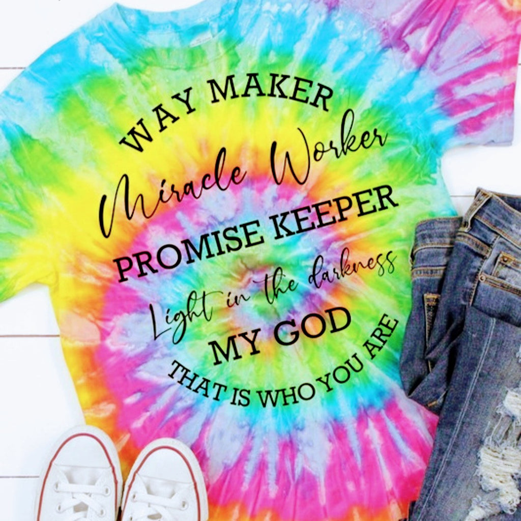 Way Maker Tie-Dye Tee