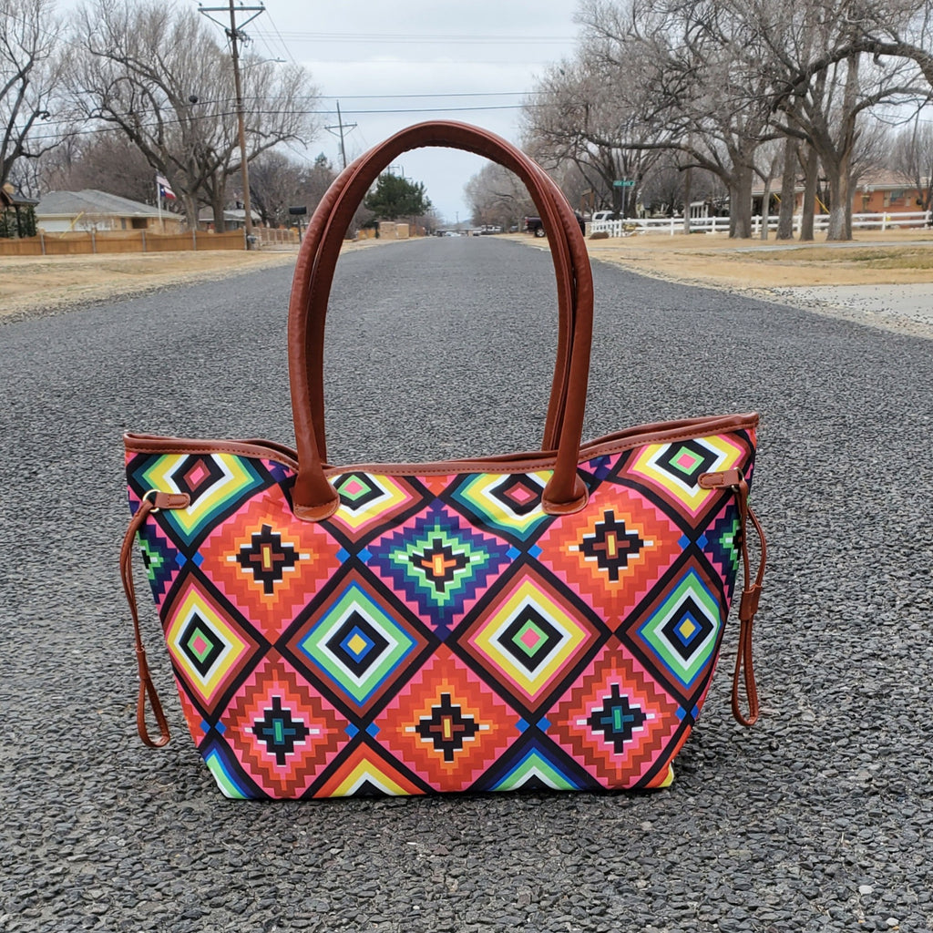 Bright Star Aztec Tote