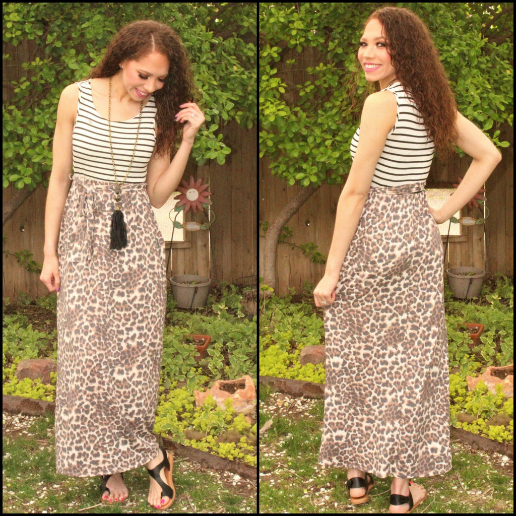 Melody Safari Maxi Dress