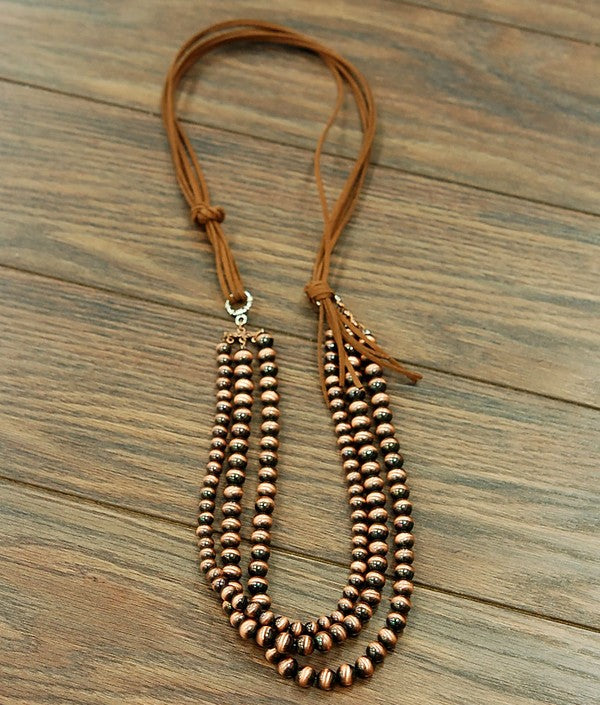 Copper Navajo Necklace
