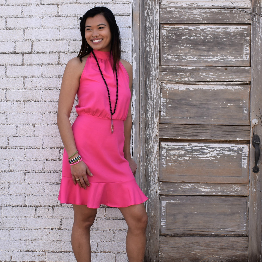 Fuchsia For You Dress