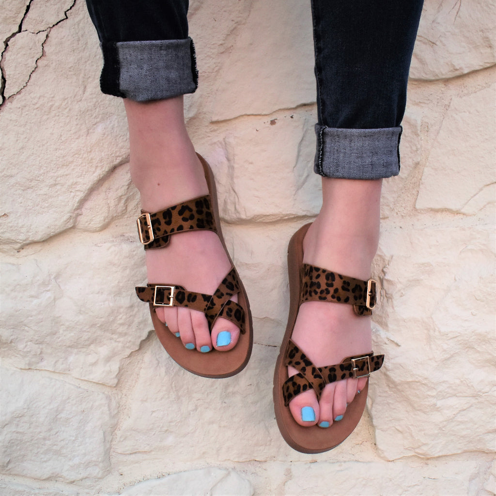 Strapped In Safari Sandal