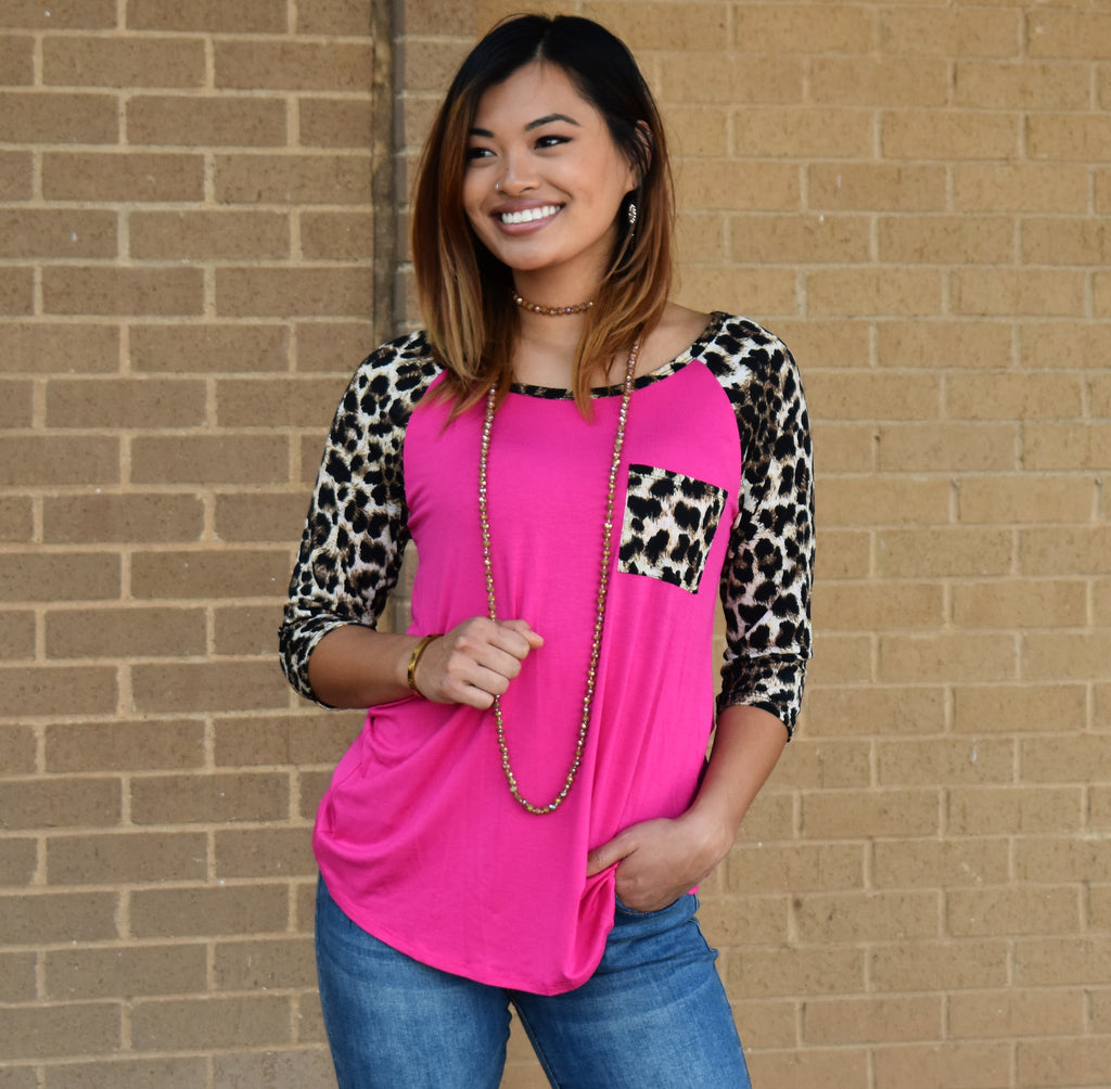 Leopard Out Loud Top