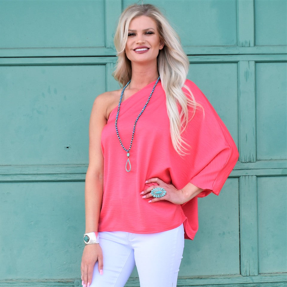 Coral Queen Candace Top