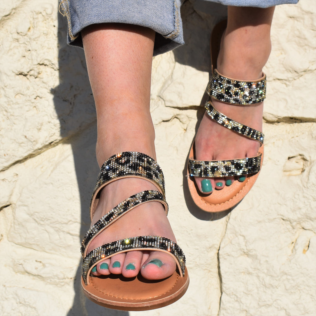 Spicy Tina Leopard Sandals