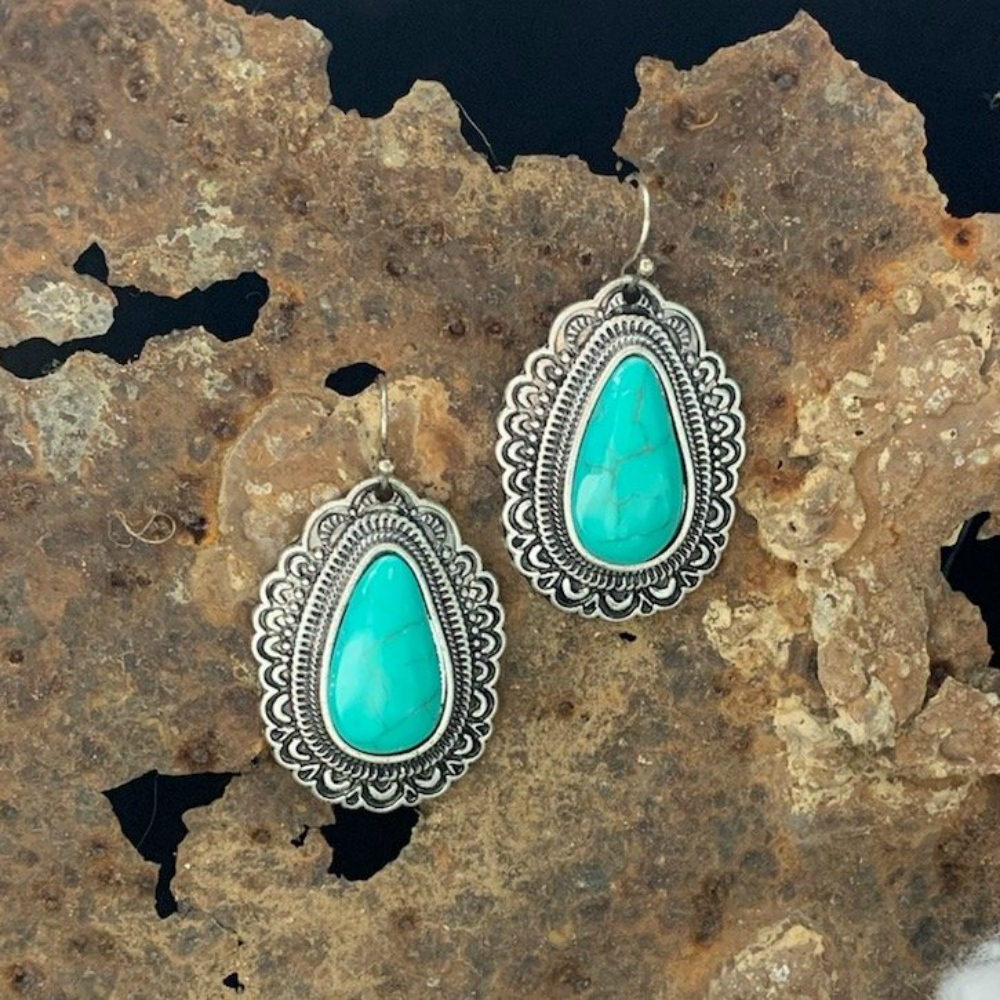 Southern Comfort Turquoise Earrings