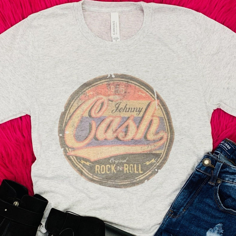 Retro Johnny Cash Tee