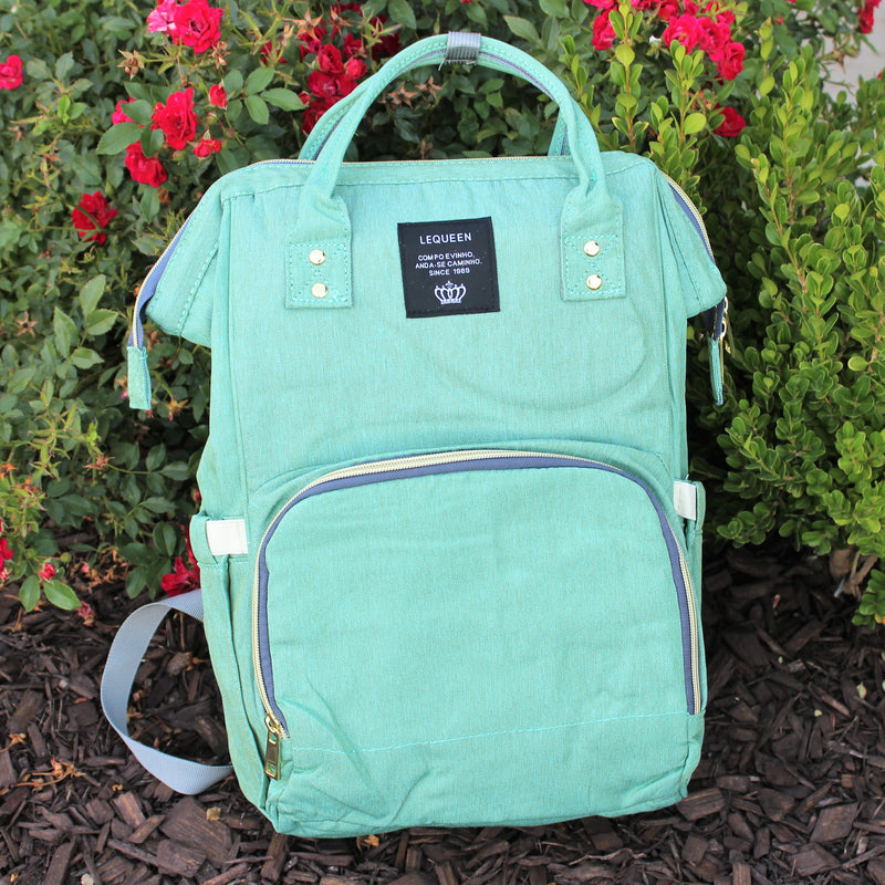 Sea Foam Diaper Bag