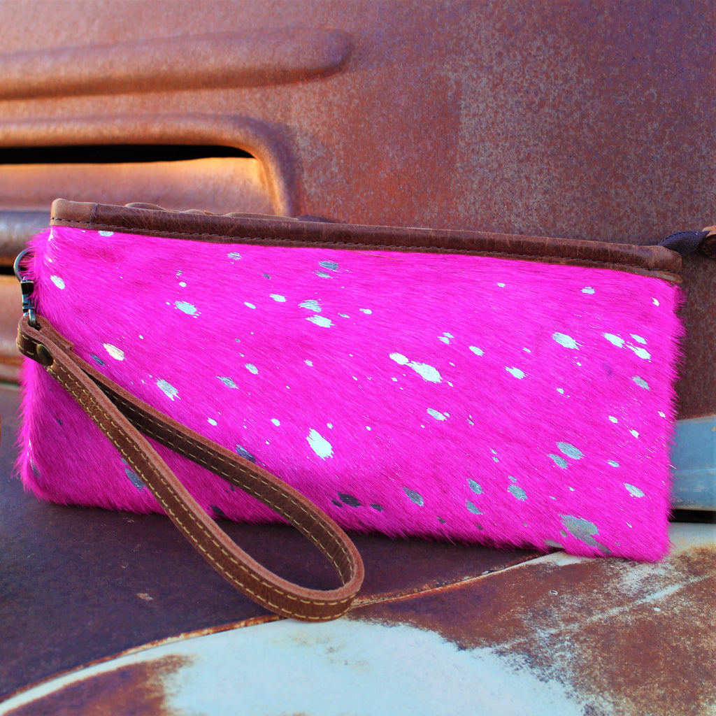 Barbie World Pink Wristlet
