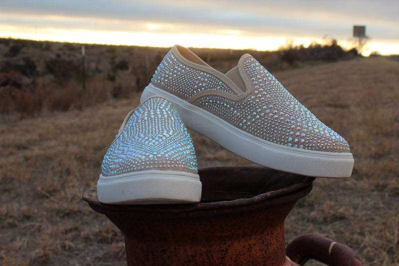 Pop The Bubbly Slip On