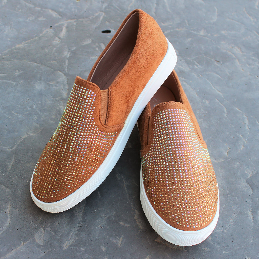 Brown Priscilla Slip-Ons