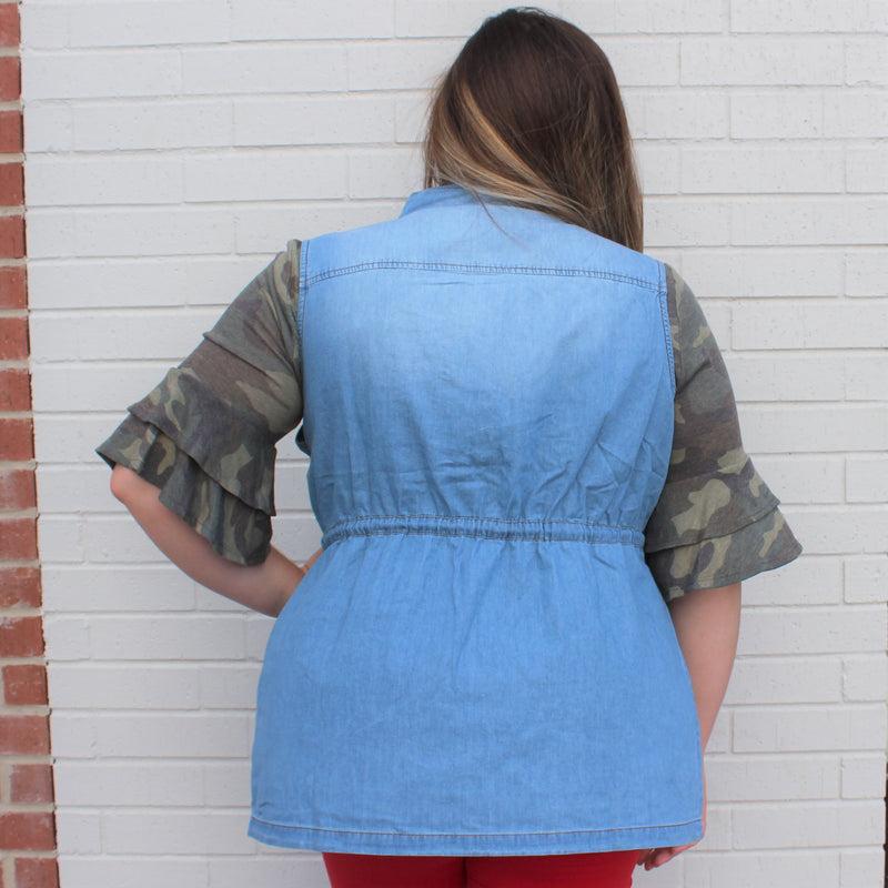 PLUS Anorak Chambray LIGHT Vest