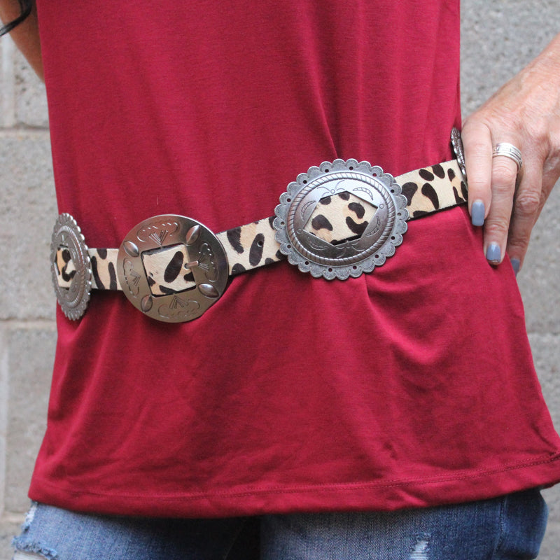 Wild Thing Concho Belt*