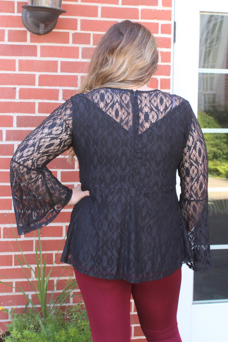 PLUS Hartlii Lace Top