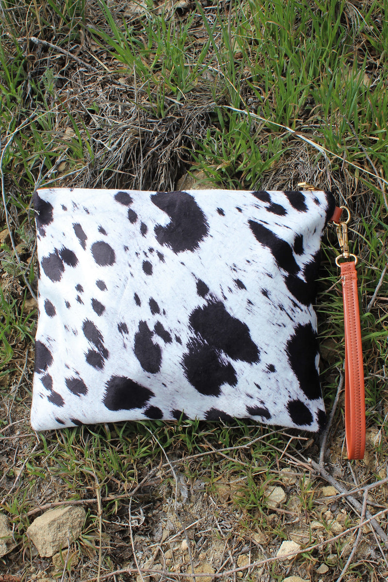 COWgirl Large Wristlet