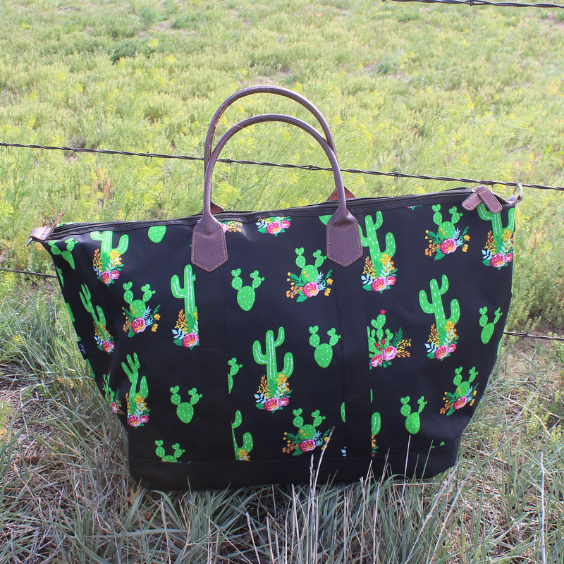 Prickly Cactus Travel Bag