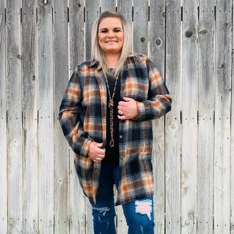 Plus Spiced Leopard Top