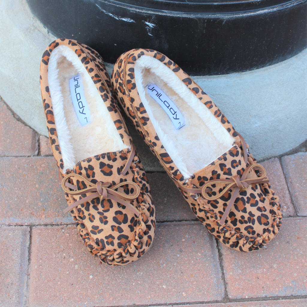 Leopard Driver Moccasin