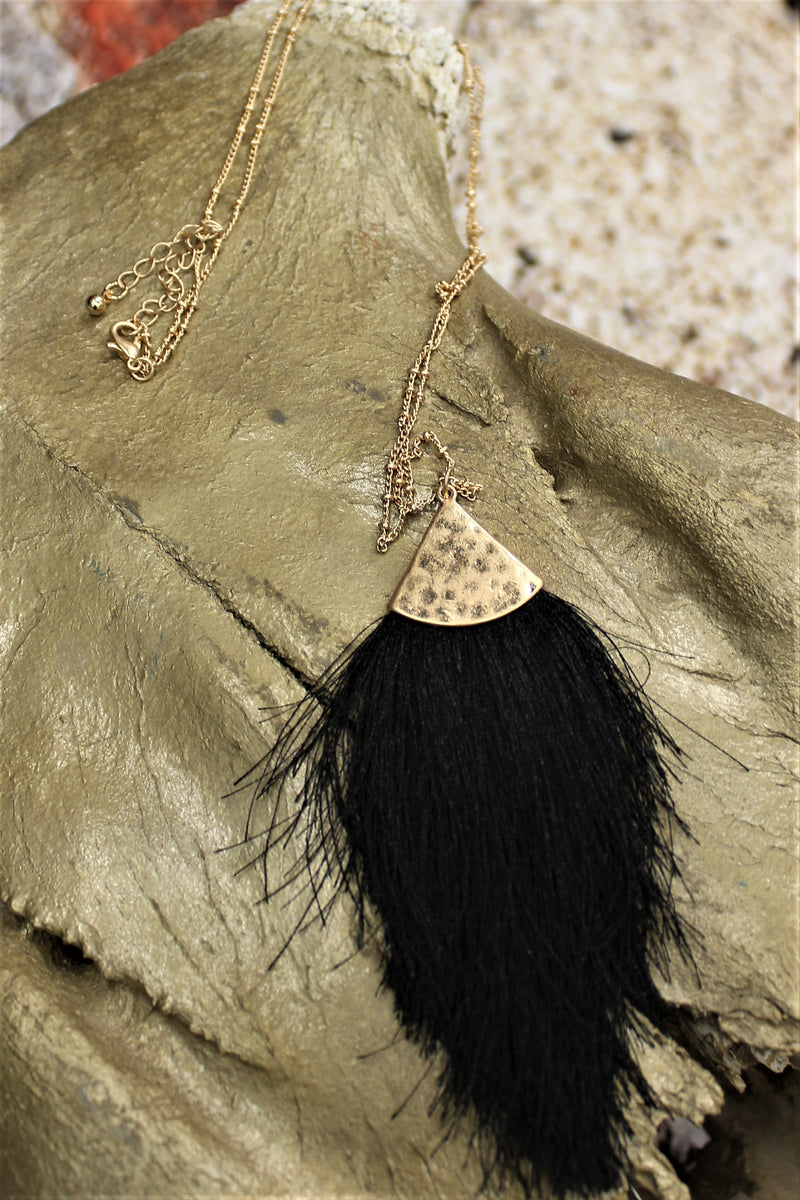 Fringe For Sure Necklace