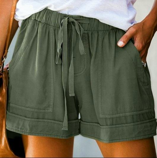 Olive Outback Shorts