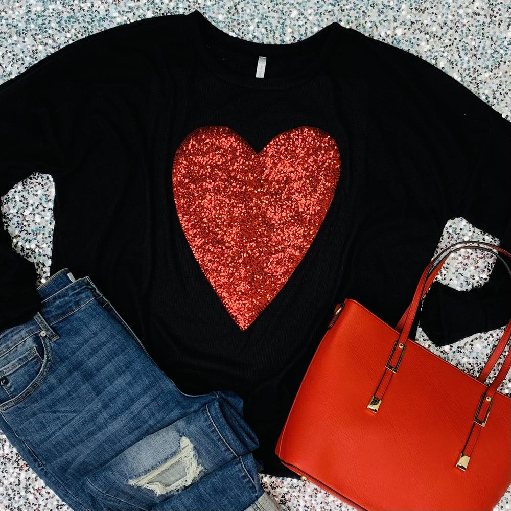 Black Be Mine Sweater
