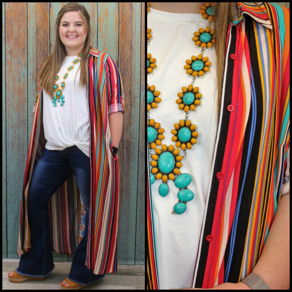 PLUS Serape Serenade Duster